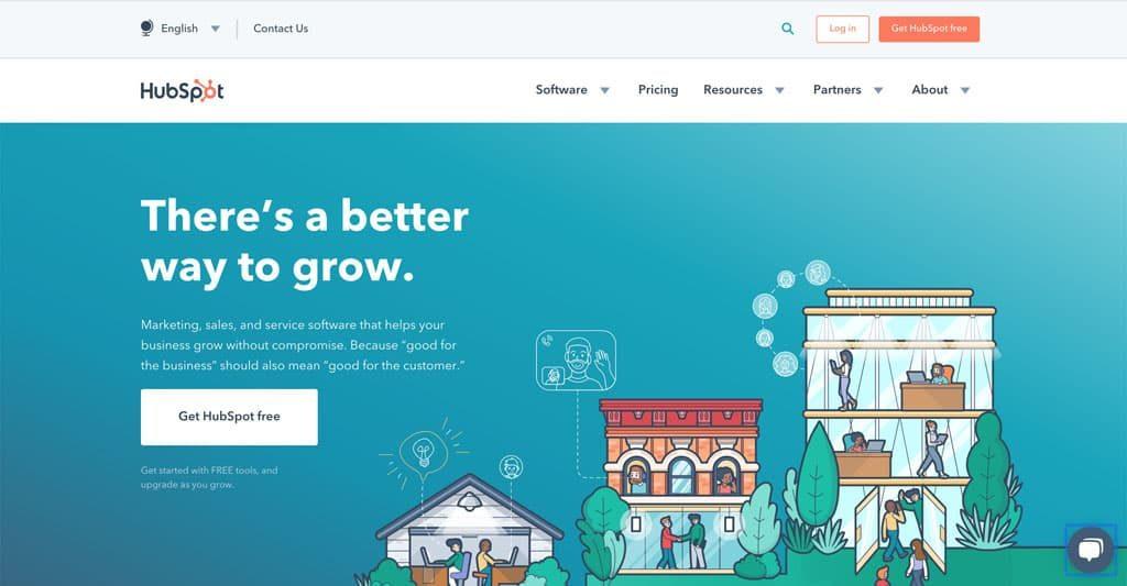 HubSpot.com Landing Page