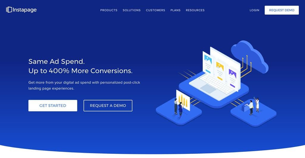 Instapage.com Landing Page Value Proposition