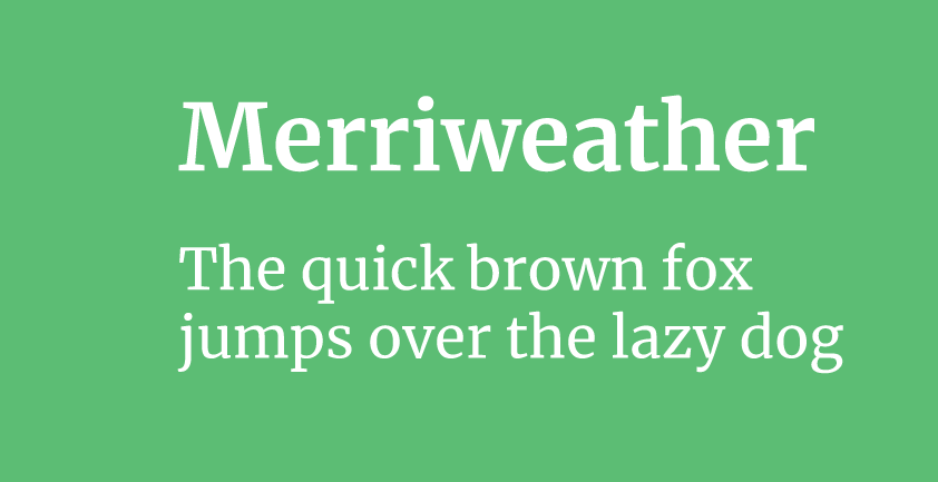 Merriweather