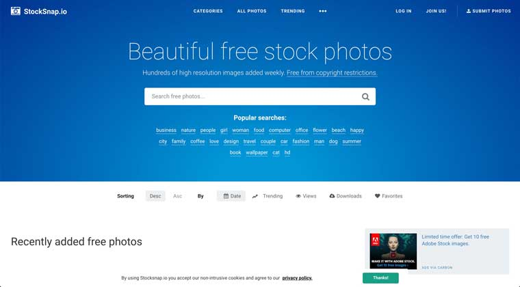 Stocksnap - Free Stock Photo