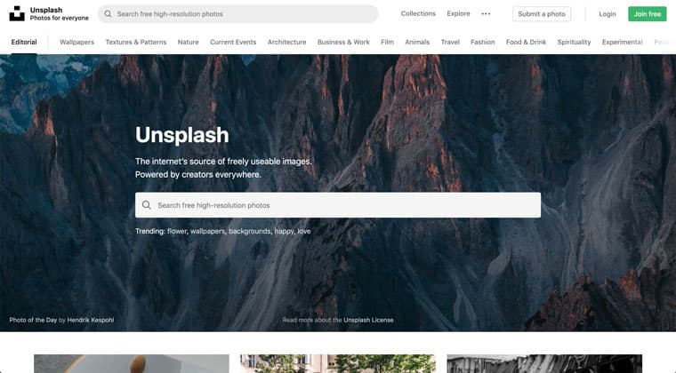 Unsplash - Free Stock Photo