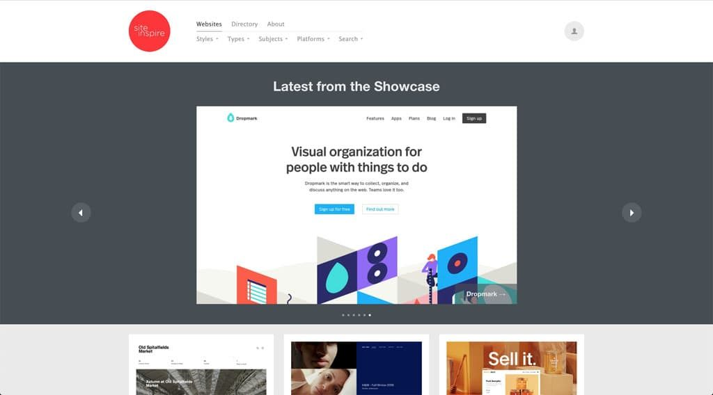Site Inspire - Web Design Inspiration