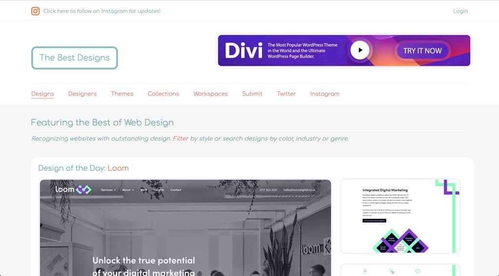 The Best Designs - Web Design Inspiration